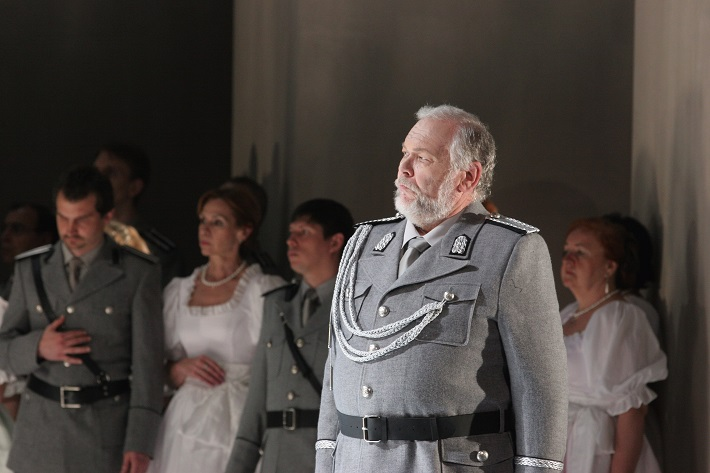 R. Wagner: Lohengrin, Opera SND, 2013, Peter Mikuláš (Kráľ Heinrich), foto: Anton Sládek