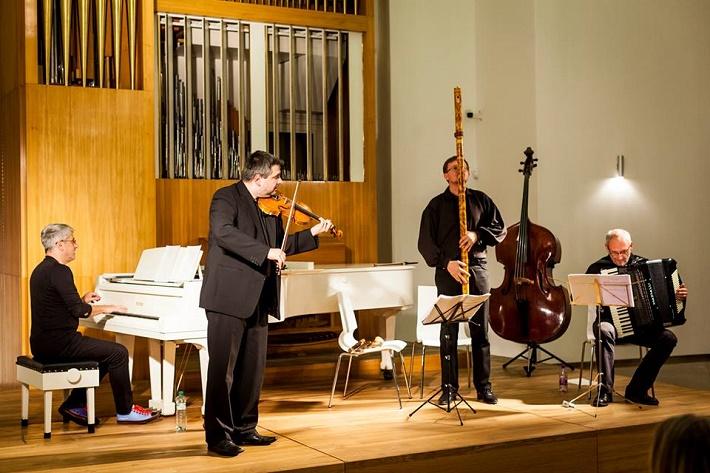 koncert Trianga na Bratislavskom hrade, 2015, foto: Matúš Lago