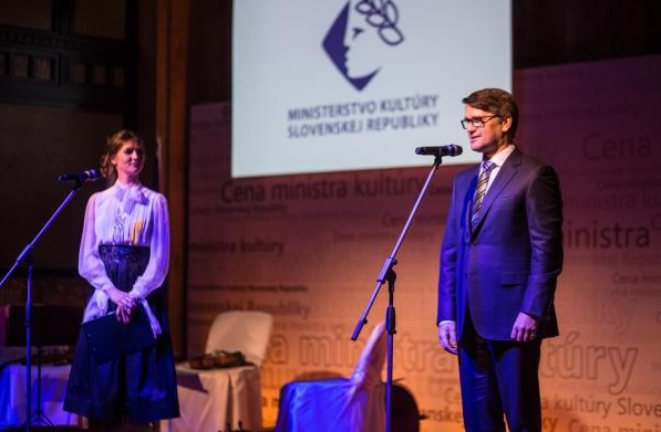 Cena ministra kultúry SR za rok 2015, Marek Maďarič, foto: MK SR