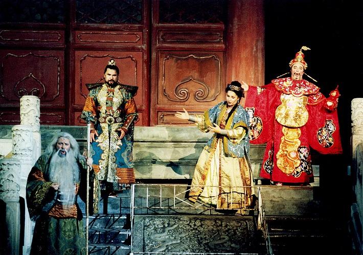 G. Puccini: Turandot, Peking, 1998, Sergej Larin (Calaf)