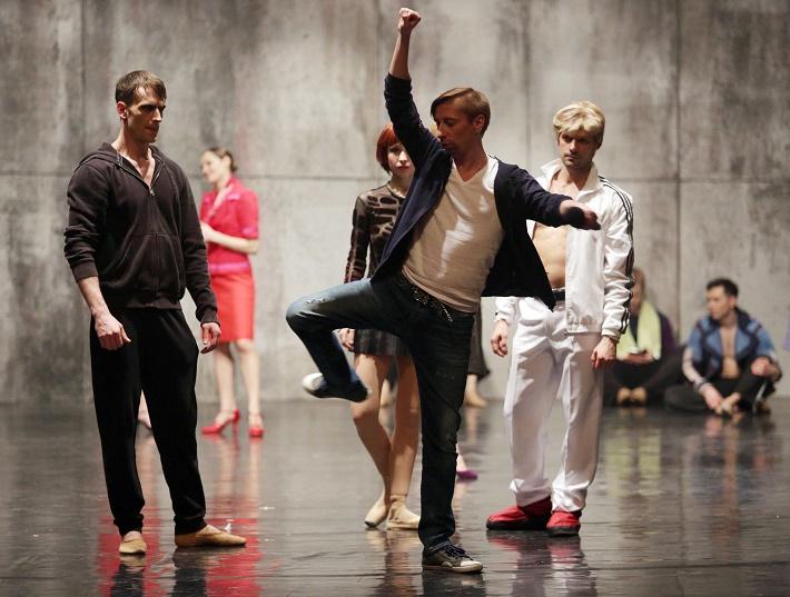 Kirill Simonov, foto zo skúšky baletu Spartakus v Balete ŠD Košice, 2016, foto: ŠDKE