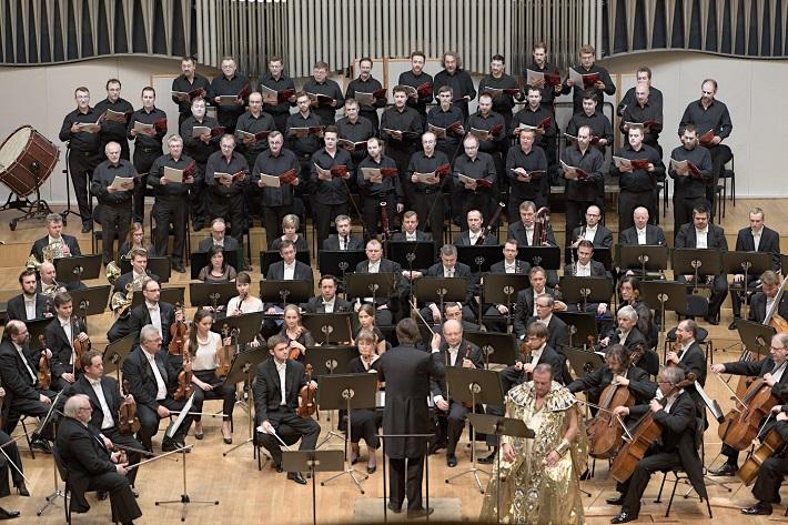 Koncert Slovenskej filharmónie, 2016, Igor Stravinskij: Oedipus Rex (koncertné prevedenie), Juraj Valčuha, Jan Vacík (Oidipus), Slovenská filharmónia, Slovenský filharmonický zbor - muži, foto: Ján Lukáš