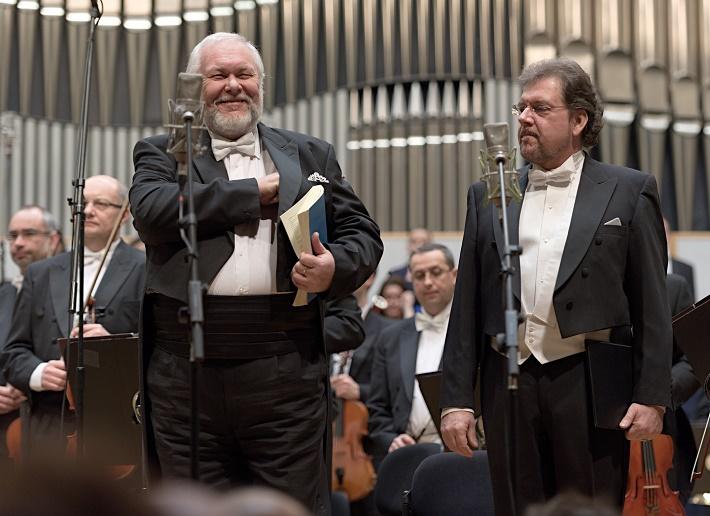 Koncert Slovenskej filharmónie, 2016, Peter Mikuláš, Tomáš Černý, foto: Ján Lukáš