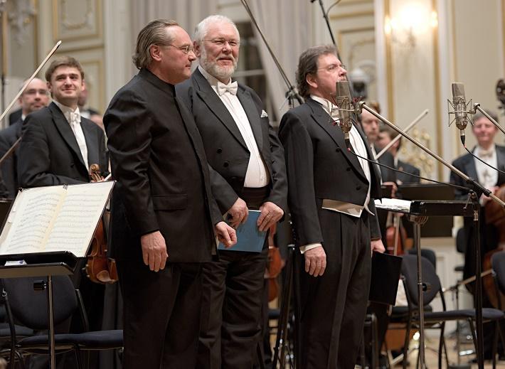 Koncert Slovenskej filharmónie, 2016, Thomas Lang, Peter Mikuláš, Tomáš Černý, foto: Ján Lukáš