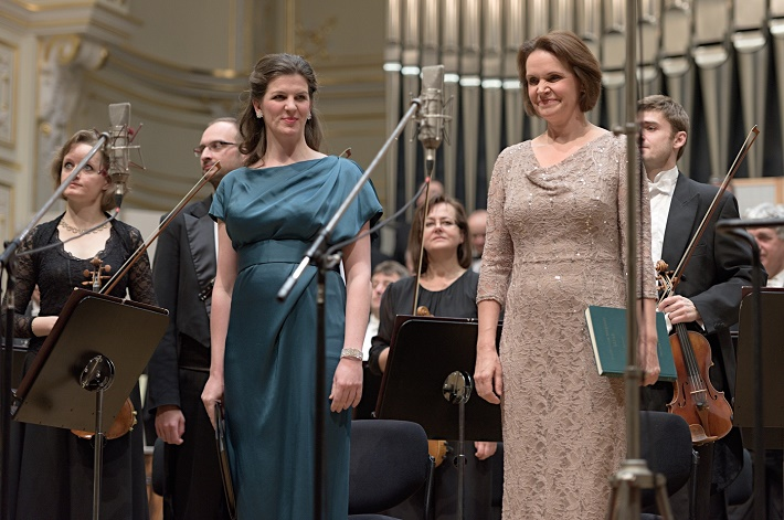 Koncert Slovenskej filharmónie, 2016, Ulrike Mayer, Ruth Ziesak, foto: Ján Lukáš