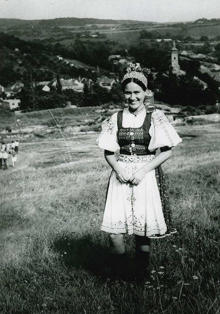 Mária Turňová v súbore Lúčnica, foto: súkromný archív Márie Turňovej