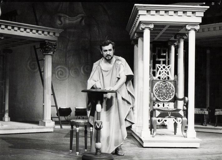 Slavomír Benko v inscenácii Divadla Jonáša Záborského v Prešove, foto: archív DJZ