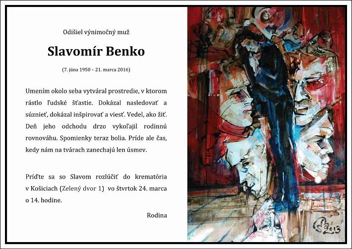 Slavomir Benko - Parte