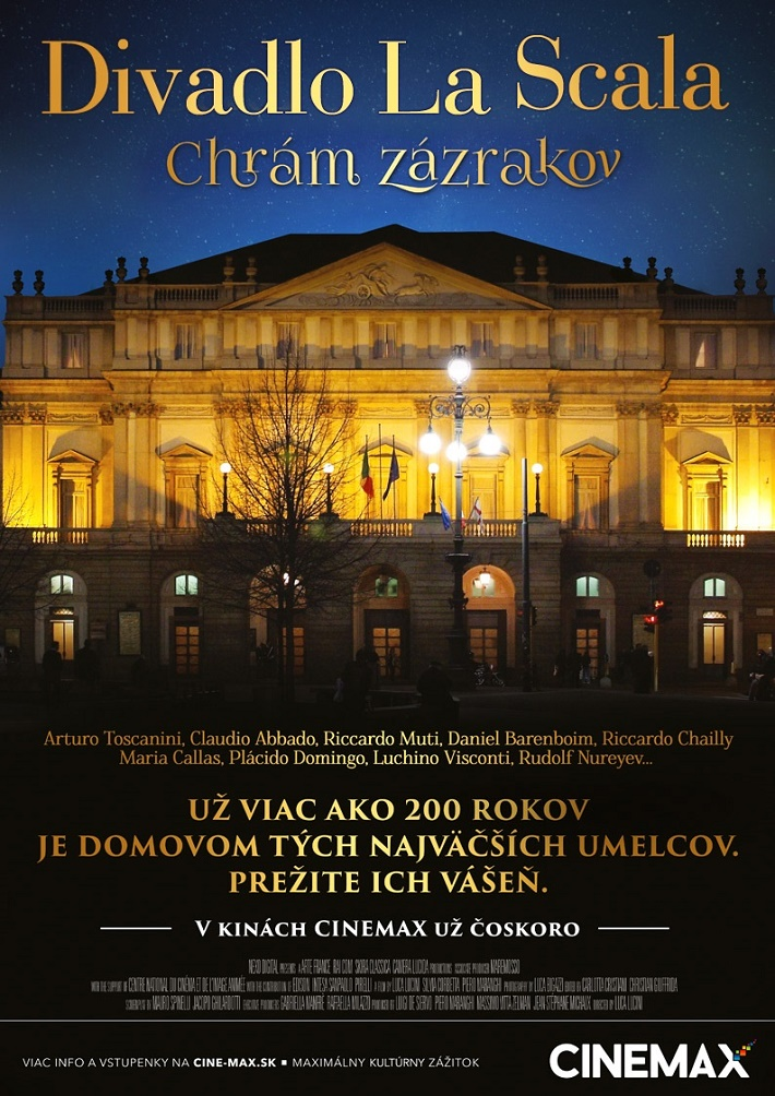Divadlo La Scala, dokument CINEMAX
