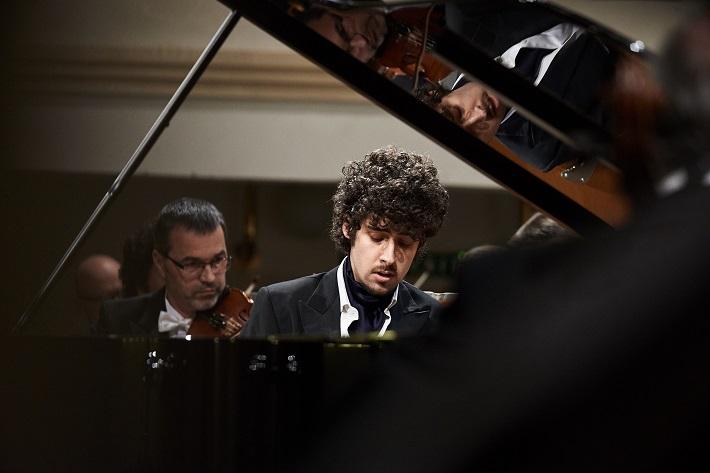 Federico Colli (klavír), foto: Roderik Kučavík