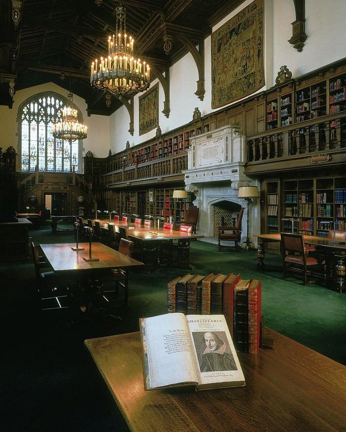Folger Shakespeare knižnica vo Washingtone, foto: Julie Ainsworth