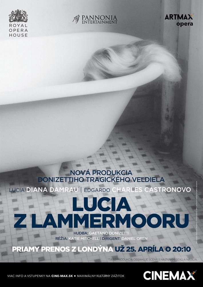 G. Donizetti Lucia di Lammermoor, ROH, 2016, plagát