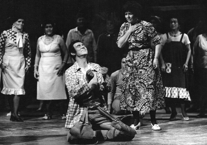 Juraj Šomorjai v predstavení Porgy a Bess, foto: súkromný archív rodiny Šomorjaiovcov