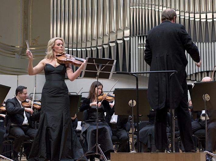 Koncert v Slovenskej filharmónii, 2016, Jitka Hosprová, foto: Ján Lukáš