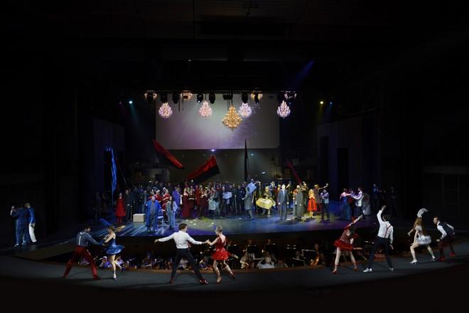 Ludwig van Beethoven: Fidelio, Opera SND, 2016, finále opery, foto: Pavol Breier