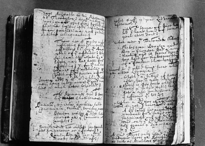 Shakespearov rukopis uložený vo Folger Shakespeare knižnici vo Washingtone