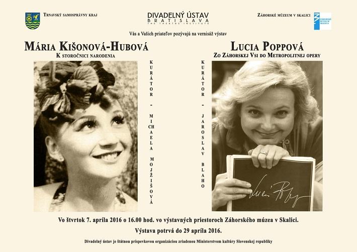 Výstava Lucia Popp a Mária Kišoňová Hubová v Skalici