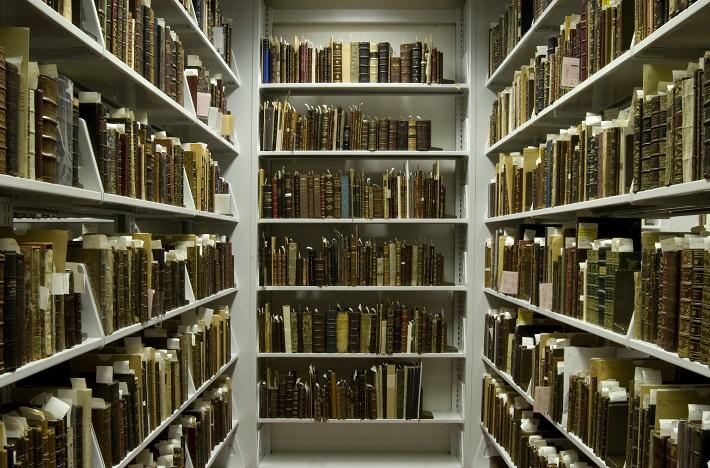 Vzácne knihy uložené v trezore Folger Shakespeare knižnici vo Washingtone, foto: Erica Abbey