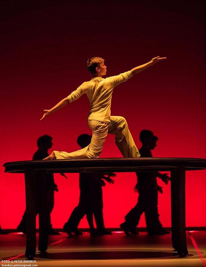 Š. Ondrišová, P. Groll: Bess – Pocta Rudolfovi Labanovi, Balet SND, 2016, David Dubiel, foto: Peter Brenkus