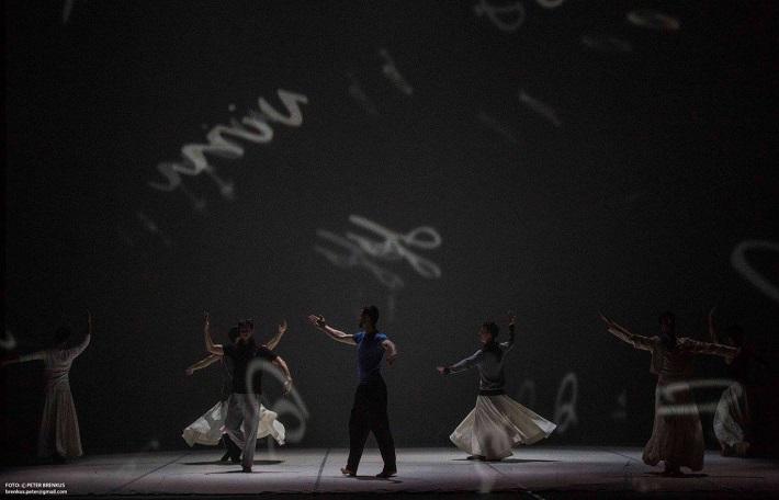 Š. Ondrišová, P. Groll: Bess – Pocta Rudolfovi Labanovi, Balet SND, 2016, foto: Peter Brenkus