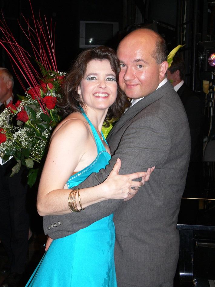 Ľubica Vargicová s manželom Martinom, foto: súkr. archív Ľ. Vargicovej