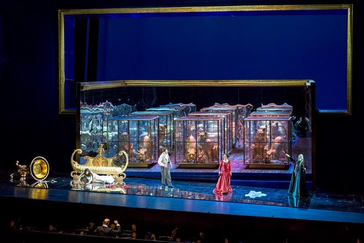 A. Dvořák: Rusalka, Veľká Národná Opera Peking, 2016, scéna