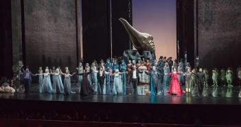 A. Dvořák: Rusalka, Veľká Národná Opera Peking, 2016, klaňačka po premiére