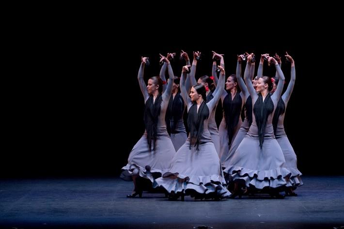 A. Gades: Krvavá svadba, Suita Flamenca, Compañía Antonio Gades, foto: Javier del Real