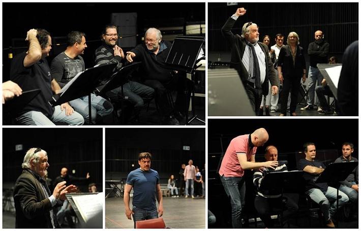 G. Verdi, Simon Boccanegra, Opera SND 2016, fotokoláž zo skúšky, foto: Alena Klenková