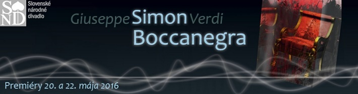 Giuseppe Verdi, Simon Boccanegra, Opera SND, 2016, banner