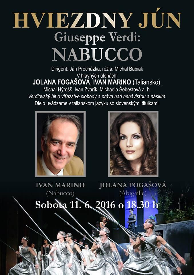 Hviezdny jún 2016, Štátna opera Banská Bystrica (2)