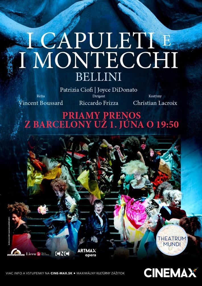 I Capuletti e I Montecchi, Barcelona, CINEMAX poster