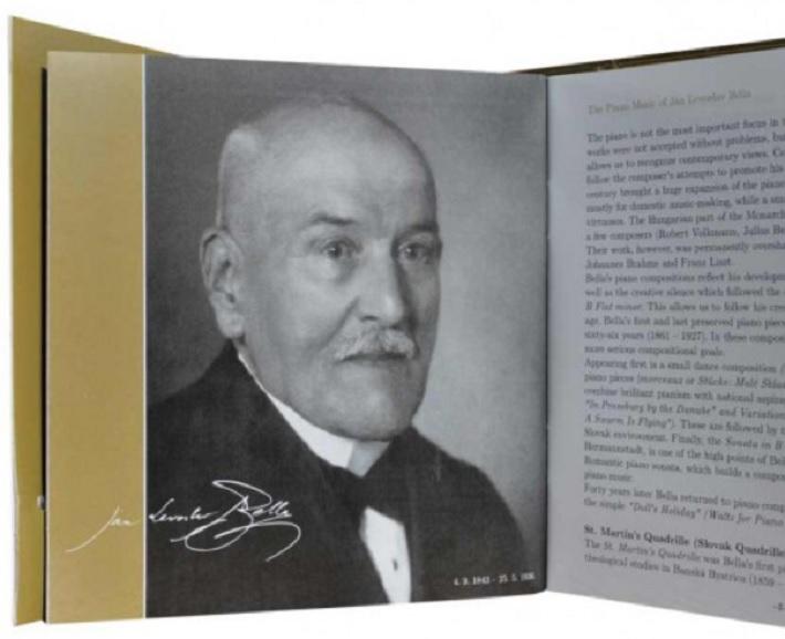 Ján Levoslav Bella, (1843 – 1936)