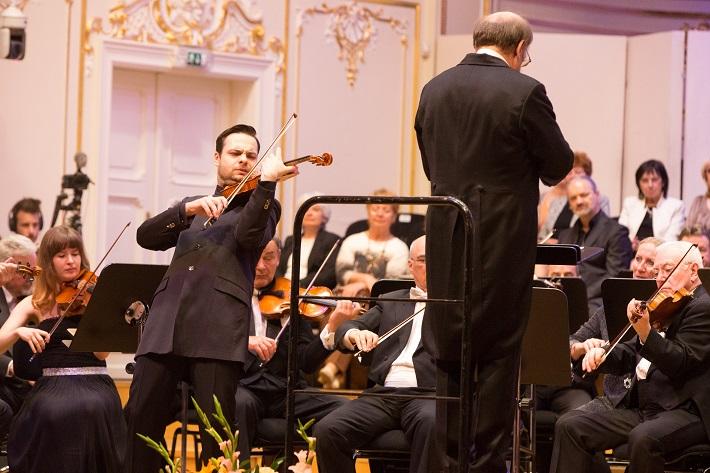 Koncert Bruno Walter Symphony Orchestra, Reduta, 2016, Dalibor Karvay, Jack Martin Händler