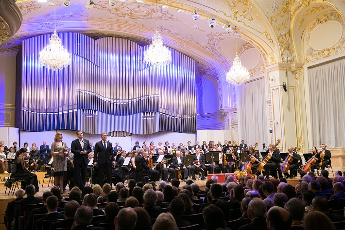 Koncert Bruno Walter Symphony Orchestra, Reduta, 2016