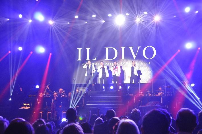 Koncert Il Divo a ŠKO Žilina