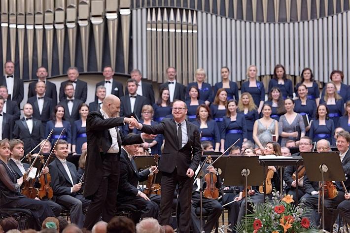 Koncert v Slovenskej filharmónii, 2016, Emmanuel Villaume, Jozef Chabroň, foto: Ján Lukáš