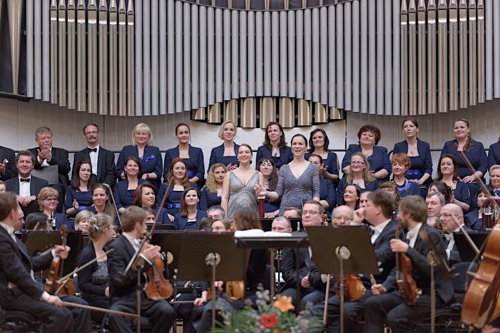 Koncert v Slovenskej filharmónii, 2016, Adriana Kučerová, Terézia Kružliaková, Slovenská filharmónia, Slovenský filharmonický zbor, foto: Ján Lukáš