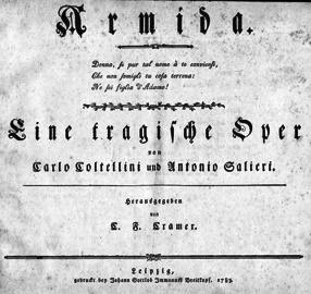 Nemecká verzia opery Armida