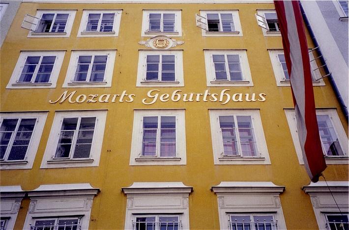 Rodný dom W. A. Mozarta v Salzburgu