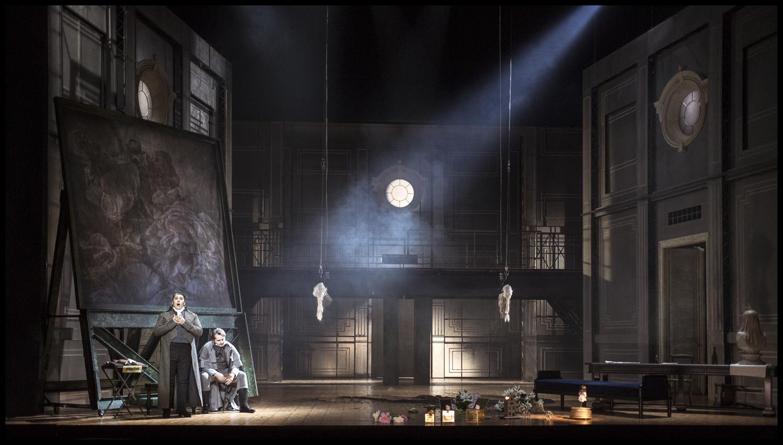 U. Giordano: Andrea Chénier, Opera ND Praha, 2016, foto: Patrik Borecký