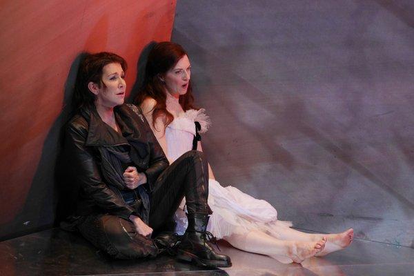 V. Bellini: I Capuletti e I Montecchi, Gran Teatre del Liceu, Barcelona, Joyce DiDonato (Romeo) Patrizia Ciofi (Júlia), foto: Antoni Bofill