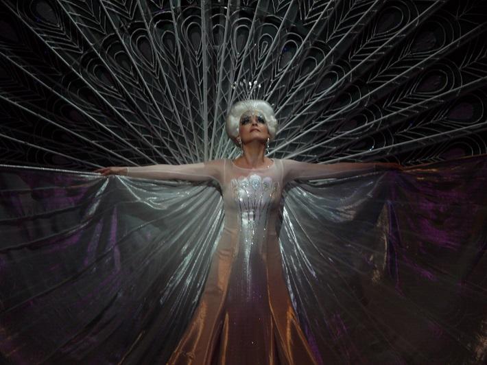 W. A. Mozart: Čarovná flauta, Opera SND, 2010, Ľubica Vargicová (Kráľovná noci), foto: Ctibor Bachratý