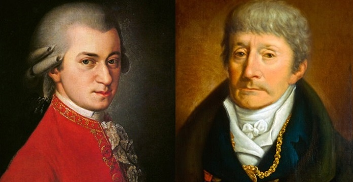 W. A. Mozart, Antonio Salieri