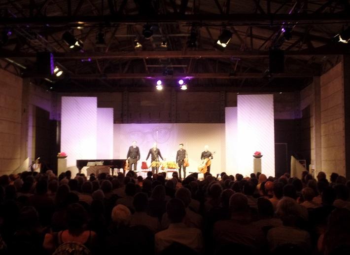 7. Medzinárodné Šostakovičové dni, Gohrisch, 2016, Quator Danel, otvaraci koncert v koncertnej stodole, foto: J. Schindler