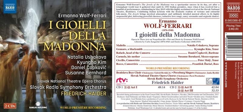 CD opery Šperky Madony