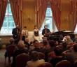 Dvořákovo klavírne kvarteto z Prahy na koncerte V Tepliciach, 2016, foto: internet