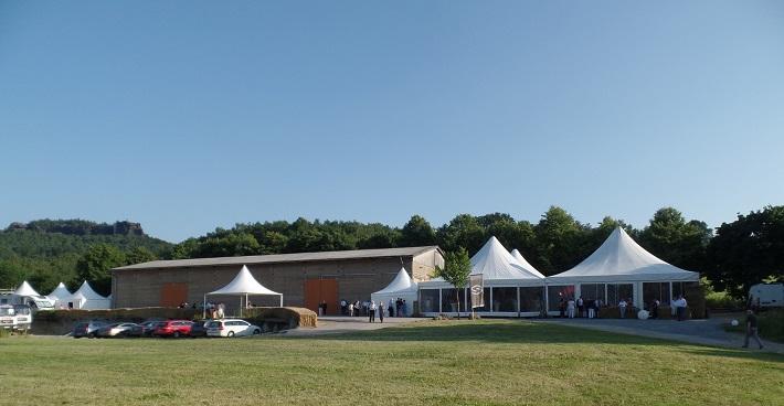 Festivalový areal v Gohrisch, foto: J. Schindler