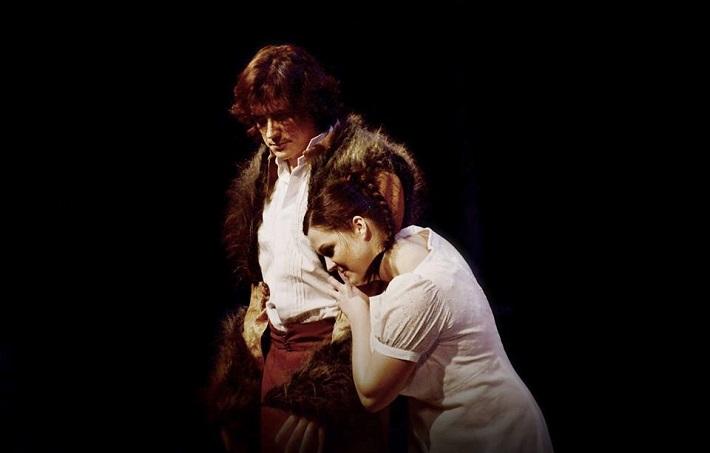 G. Donizetti: Maria di Rohan, Národní divadlo Brno, 2014, José Manuel (Riccardo), Mariana Hochelová (Maria di Rohan), foto: Marek Olbrzymek
