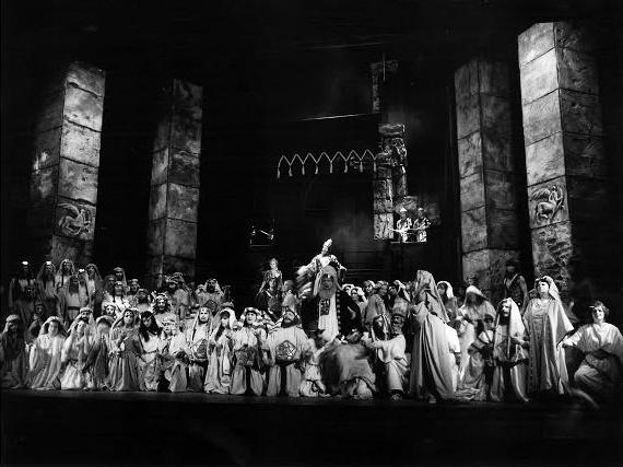 G. Verdi: Nabucco, Opera ŠD Košice, foto: Archív ŠDKE